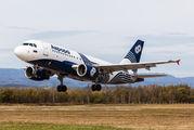 VP-BUK - Aurora Airbus A319 aircraft