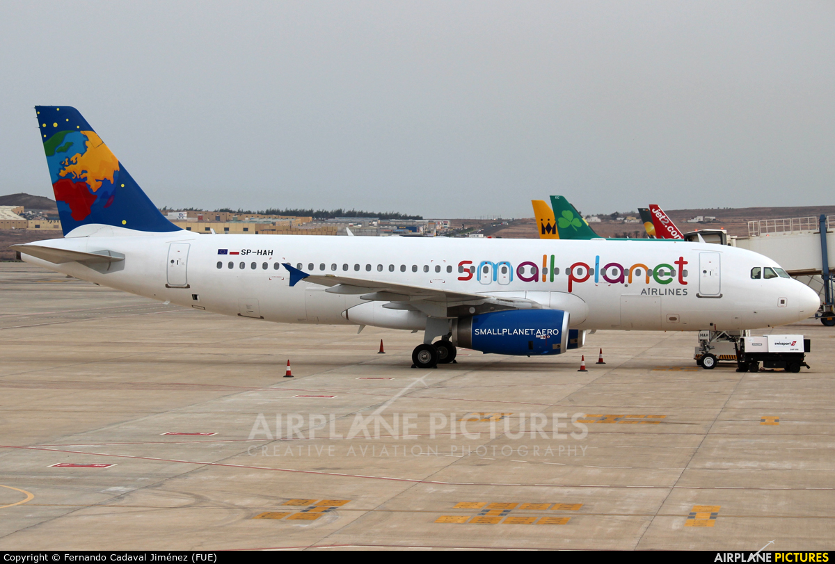 Small Planet Airlines SP-HAH aircraft at Fuerteventura - Puerto del Rosario