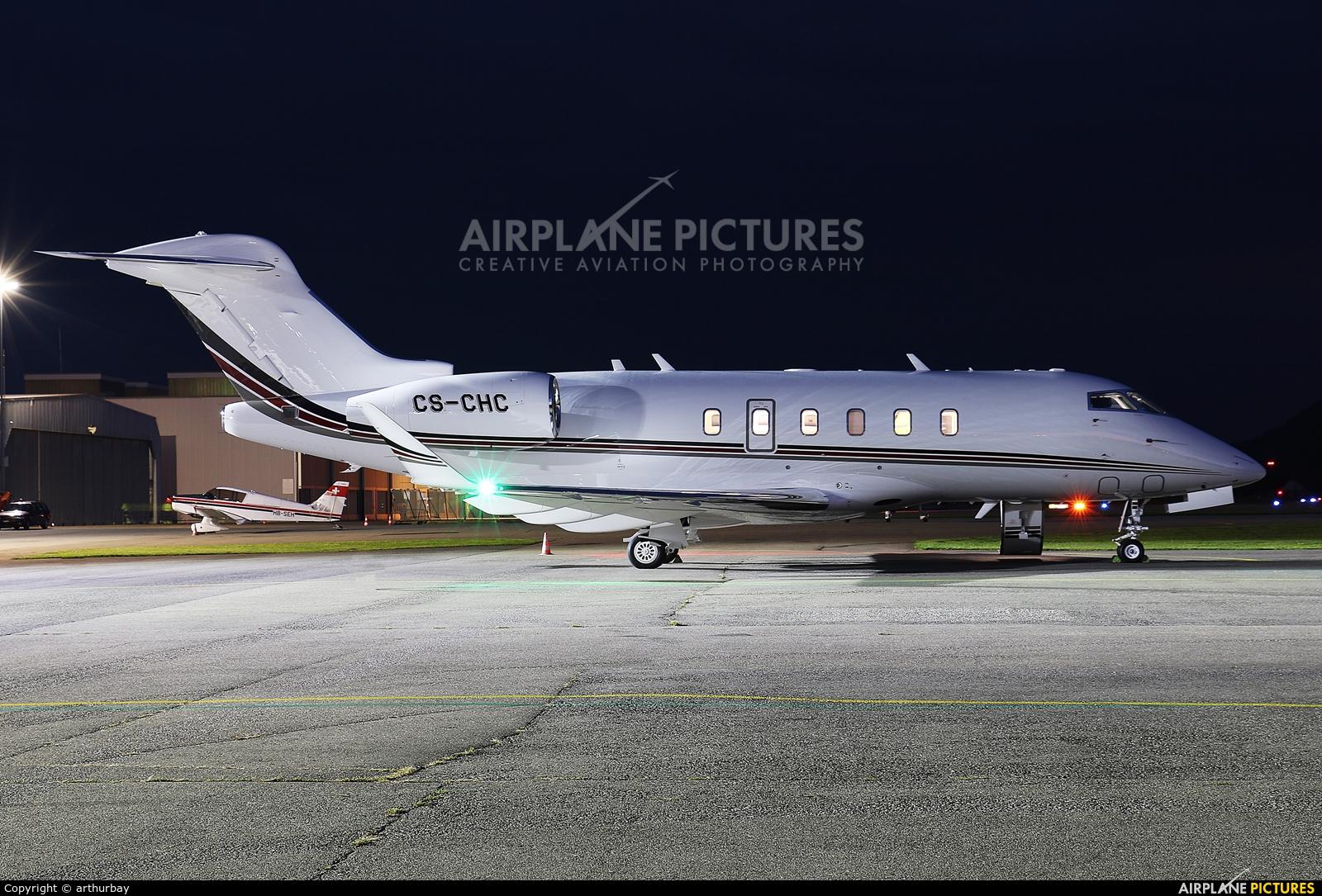 NetJets Europe (Portugal) CS-CHC aircraft at Bern - Belp