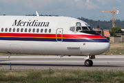 I-SMER - Meridiana McDonnell Douglas MD-82 aircraft
