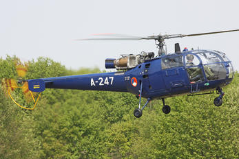 A-247 - Netherlands - Air Force Sud Aviation SA-316 Alouette III