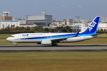 JA72AN - ANA - All Nippon Airways Boeing 737-800