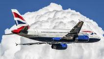 G-EUOC - British Airways Airbus A319 aircraft