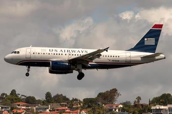 N818AW - US Airways Airbus A319