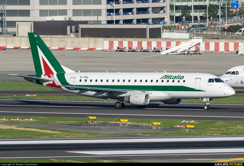 Alitalia EI-RDL aircraft at Brussels - Zaventem