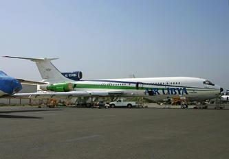 4L-85496 - Air Libya Tibesti Tupolev Tu-154B
