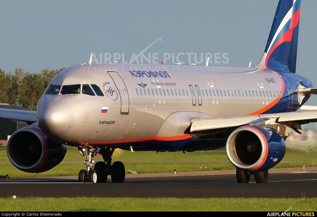 Aeroflot VQ-BKT aircraft at Amsterdam - Schiphol