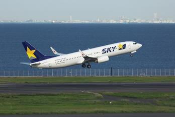 JA737U - Skymark Airlines Boeing 737-800