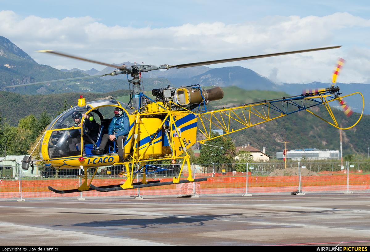 Eliossola I-CACO aircraft at Bolzano
