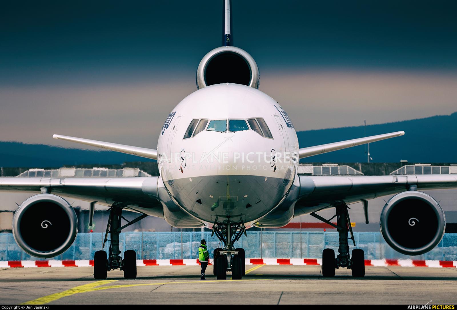 Lufthansa Cargo D-ALCG aircraft at Frankfurt