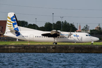 OO-VLZ - VLM Airlines Fokker 50