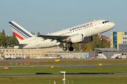 F-GUGC - Air France Airbus A318 aircraft