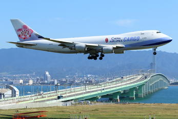 B-18708 - China Airlines Cargo Boeing 747-400F, ERF