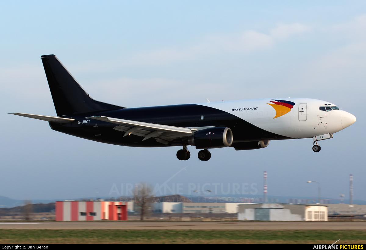 West Atlantic G-JMCT aircraft at Brno - Tuřany