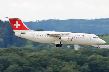 HB-IYY - Swiss British Aerospace BAe 146-300/Avro RJ100