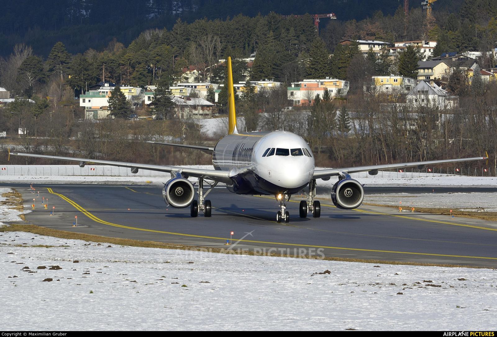 Monarch Airlines G-MARA aircraft at Innsbruck