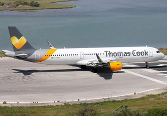 G-TCDG - Thomas Cook Airbus A321