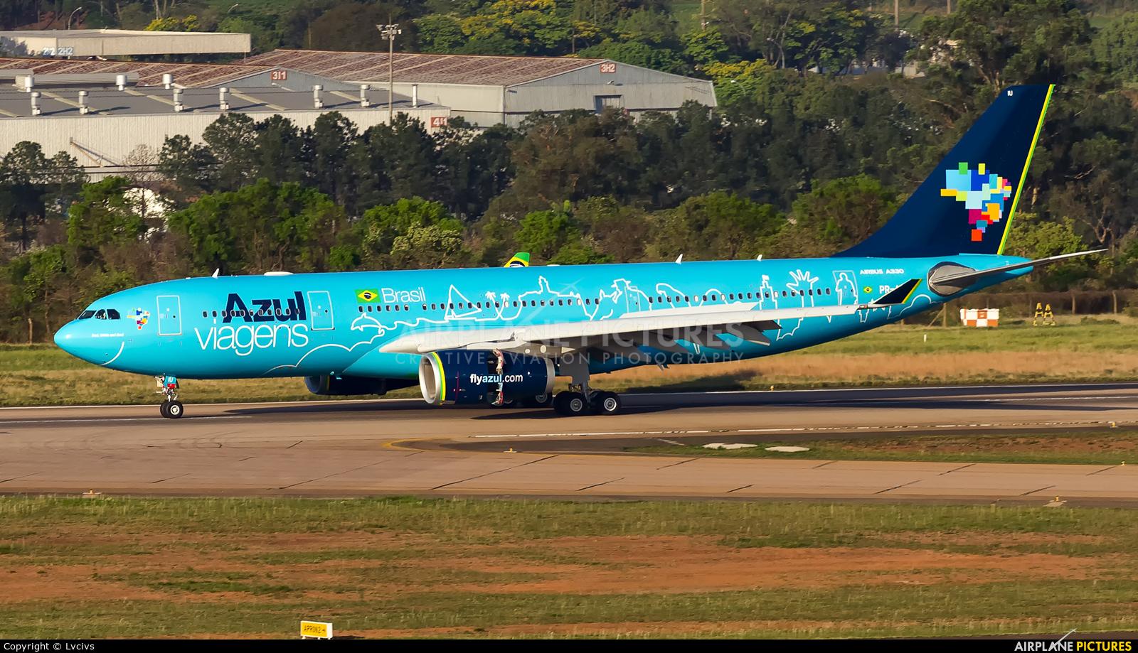 Azul Linhas Aéreas PR-AIU aircraft at Campinas - Viracopos Intl