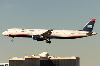N197UW - US Airways Airbus A321