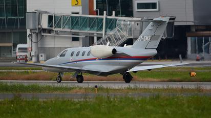 E7-SMS - Serbia - Government Cessna 525 CitationJet