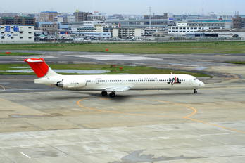 JA8296 - JAL - Express McDonnell Douglas MD-81