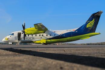 HB-AEV - Sky Work Airlines Dornier Do.328