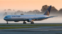 N66057 - United Airlines Boeing 767-400ER aircraft