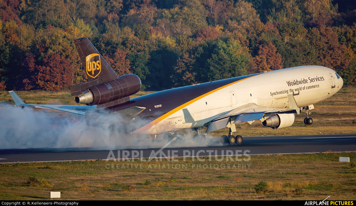 UPS - United Parcel Service N289UP aircraft at Cologne Bonn - Konrad Adenauer