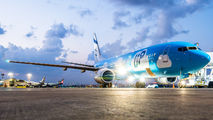4X-EKO - El Al - UP Boeing 737-800 aircraft