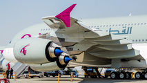 A7-APF - Qatar Airways Airbus A380 aircraft