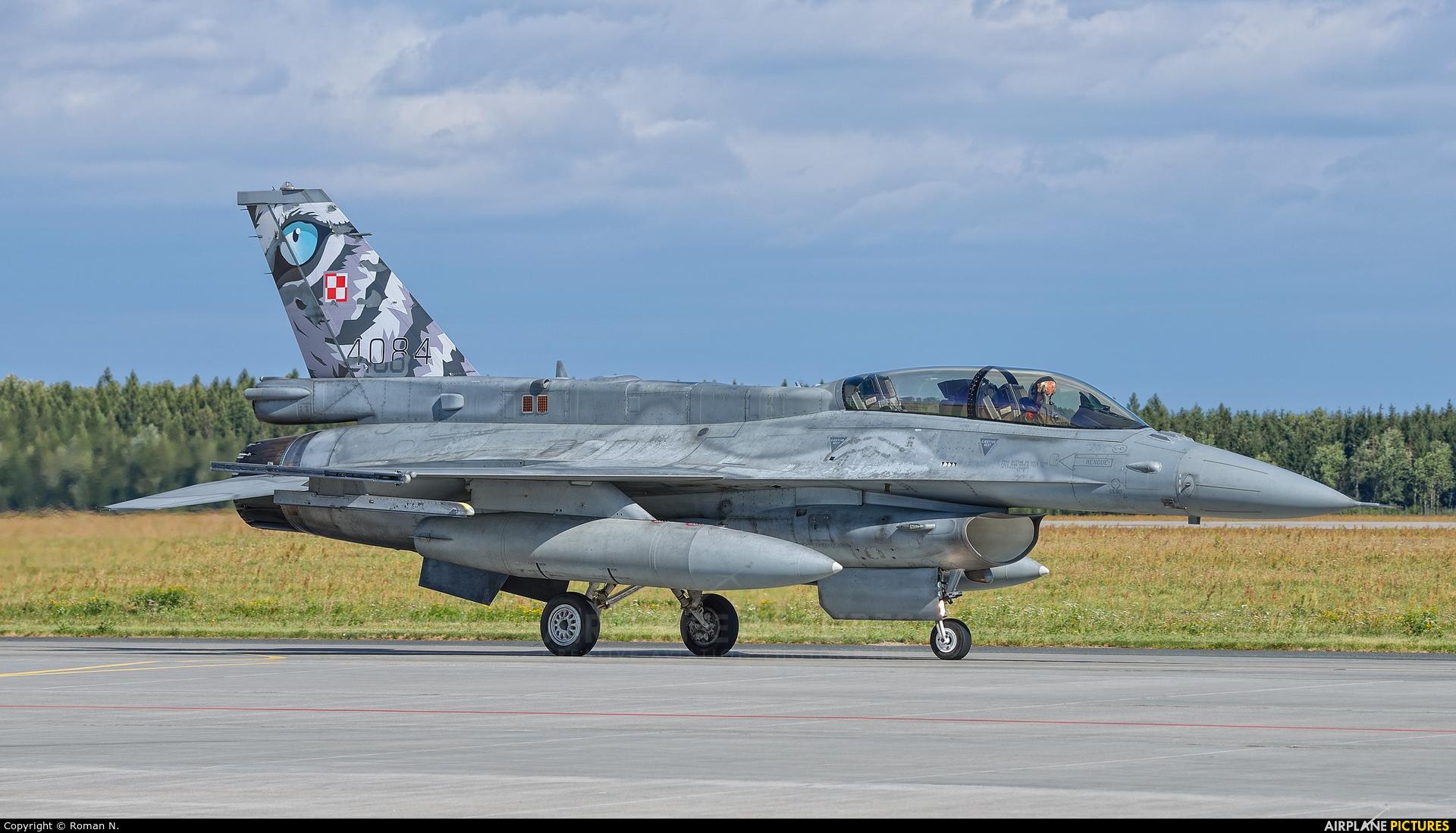 Poland - Air Force 4084 aircraft at Poznań - Krzesiny