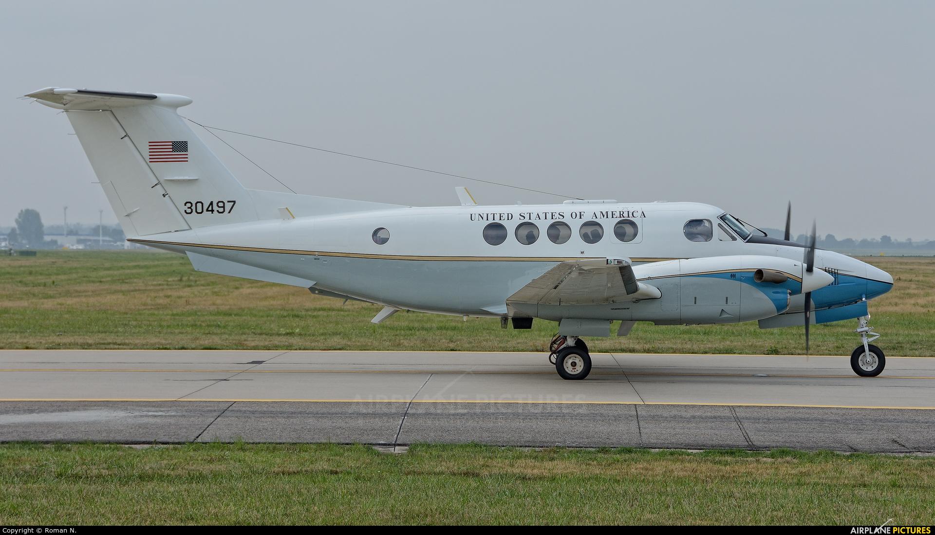 USA - Air Force 83-30497 aircraft at Ostrava Mošnov