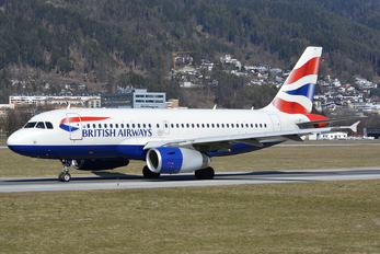 G-DBCG - British Airways Airbus A319