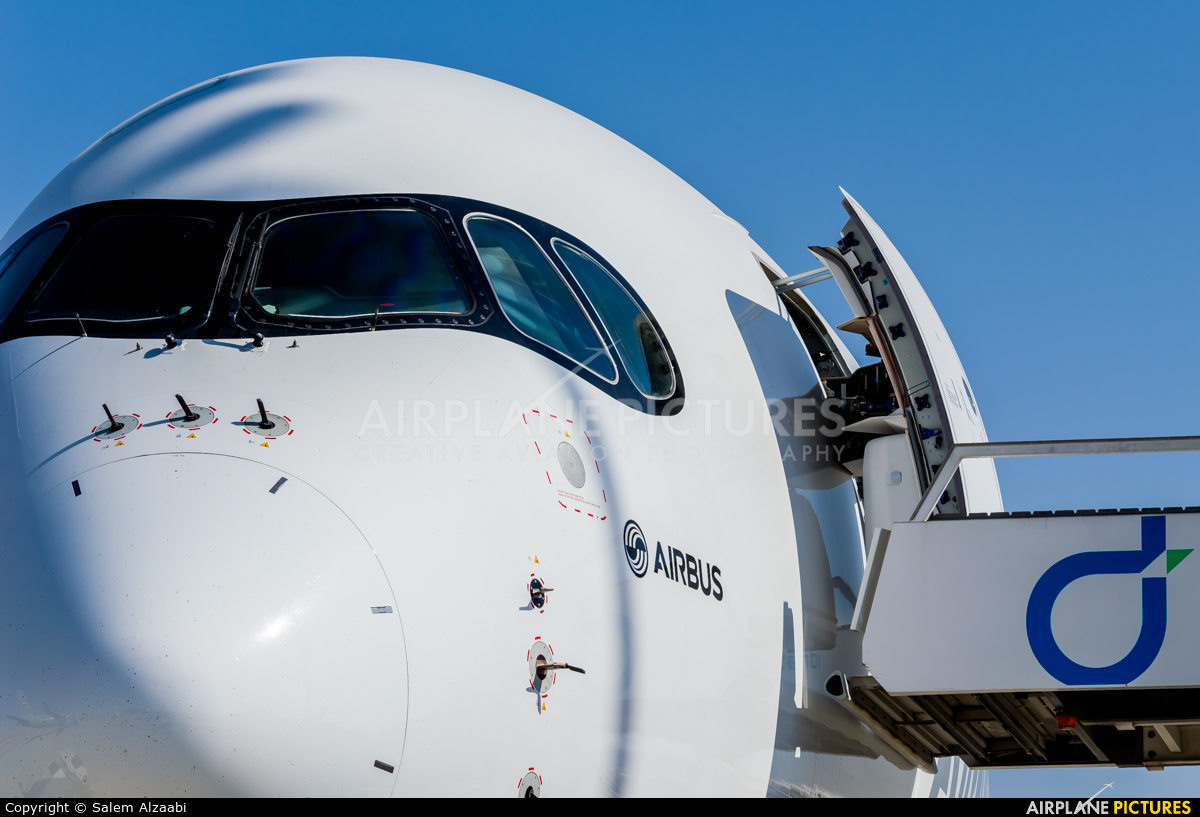 Airbus Industrie F-WWCF aircraft at Jebel Ali Al Maktoum Intl