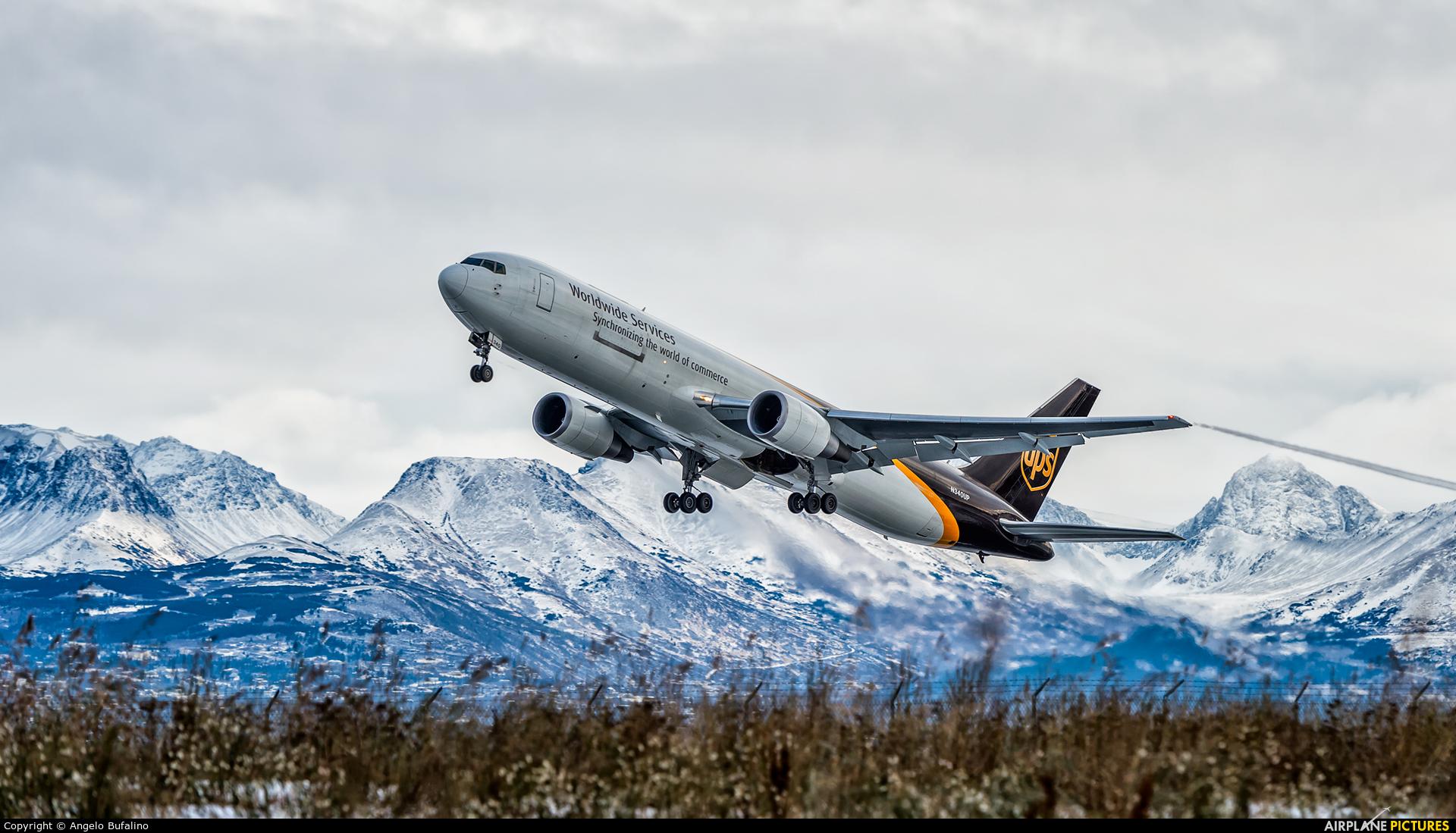 UPS - United Parcel Service N340UP aircraft at Anchorage - Ted Stevens Intl / Kulis Air National Guard Base