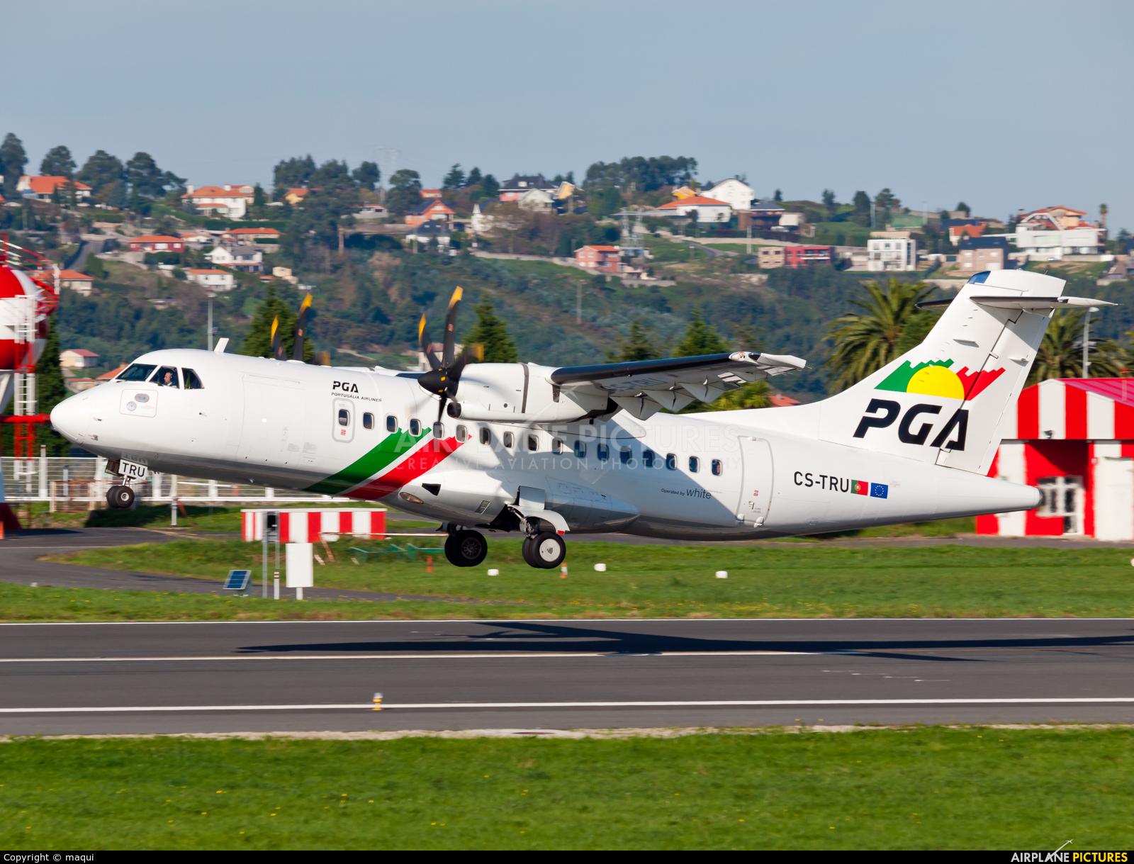 PGA Portugalia CS-TRU aircraft at La Coruña