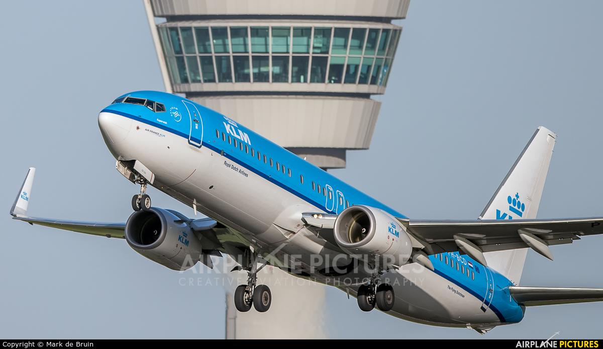 KLM PH-BCD aircraft at Amsterdam - Schiphol