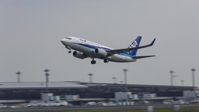 JA13AN - ANA BusinessJet Boeing 737-700