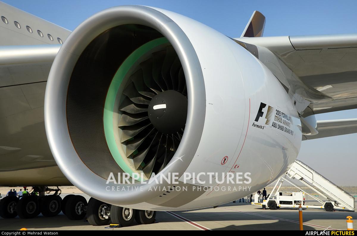 Etihad Airways A6-APD aircraft at Jebel Ali Al Maktoum Intl