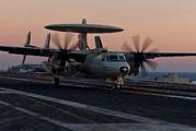 165826 - USA - Navy Grumman E-2C Hawkeye aircraft