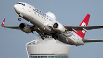 TC-JFY - Turkish Airlines Boeing 737-800 aircraft