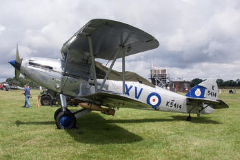 K5414 - The Shuttleworth Collection Hawker Hind