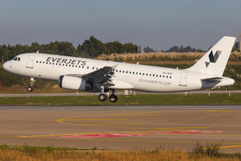 OY-RUP - Everjets Airbus A320