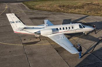 OM-ATN - Air Transport Europe Cessna 550 Citation II