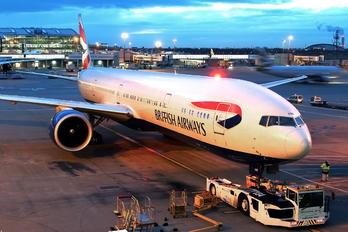 G-STBB - British Airways Boeing 777-300ER