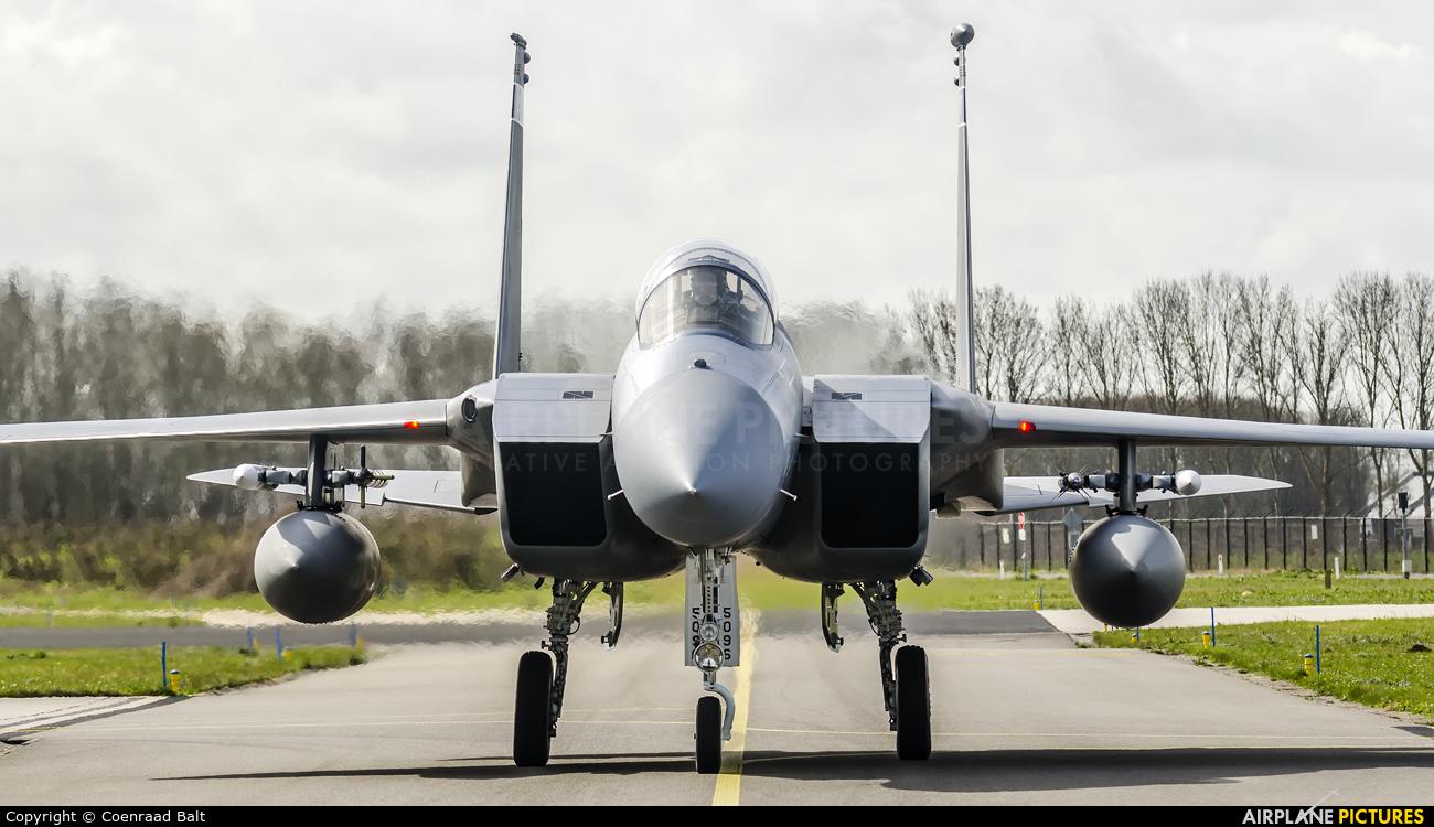 USA - Air National Guard 85-0096 aircraft at Leeuwarden