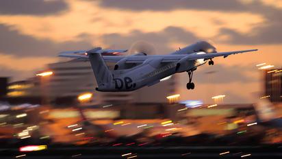 G-JECX - Flybe de Havilland Canada DHC-8-400Q / Bombardier Q400