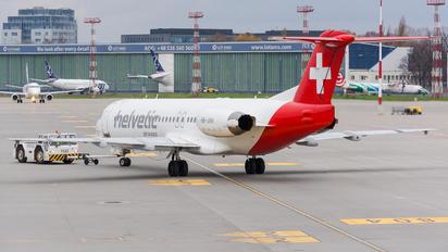 HB-JVH - British Airways Fokker 100