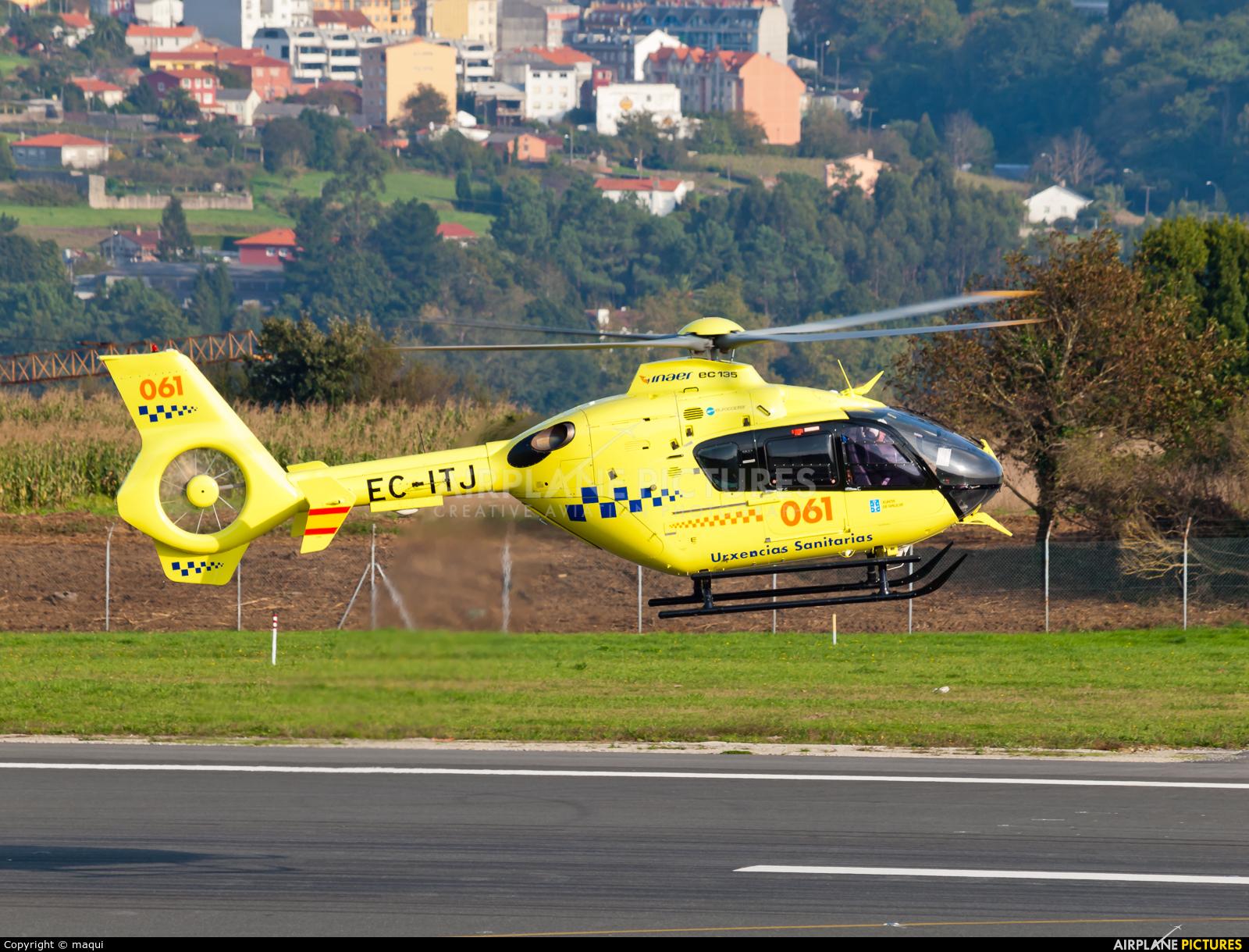 Spain - Government EC-ITJ aircraft at La Coruña