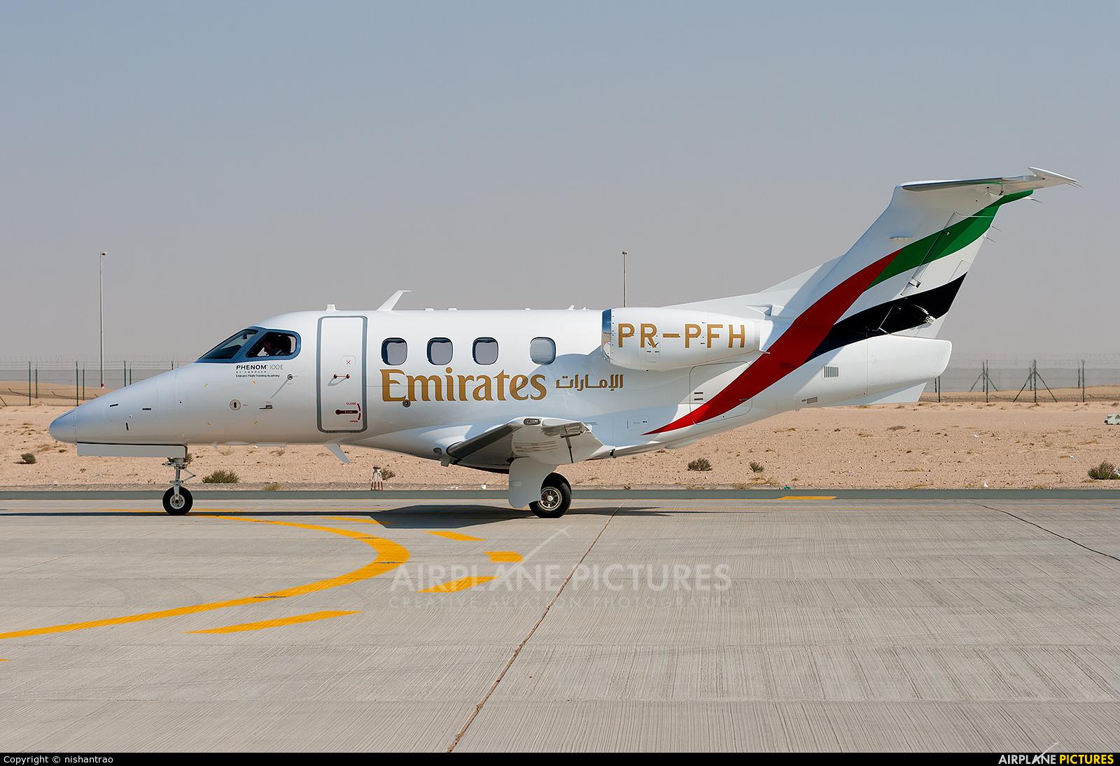 Emirates Airlines PR-PFH aircraft at Jebel Ali Al Maktoum Intl